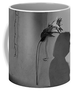 Lily And Male Figure Shadow Coffee Mug