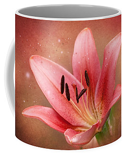 Lily Coffee Mug by Ann Lauwers