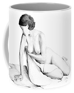 Lily Grace Of Form 3 Coffee Mug by Joseph Ogle