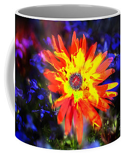 Coffee Mug featuring the photograph Lily In Vivd Colors by Gunter Nezhoda
