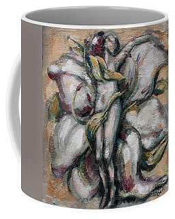 Lily Of The Field Coffee Mug by Carrie Joy Byrnes