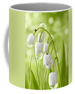 Lily Of The Valley Coffee Mug by Veronica Minozzi