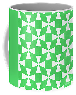 Lime Twirl Coffee Mug