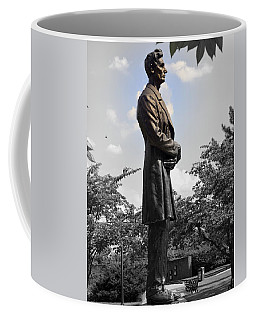Lincoln At Lytle Park Coffee Mug by Kathy Barney