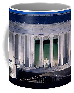 Lincoln Memorial At Dusk, Washington Coffee Mug