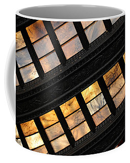 Lincoln Memorial Stained Glass Coffee Mug