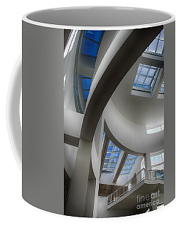 Lines And Curves Coffee Mug by Anne Rodkin