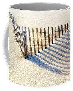 Lines In The Sand Coffee Mug