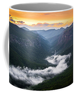 Linville River Of Fog Coffee Mug