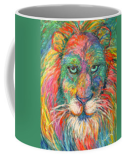 Lion Explosion Coffee Mug by Kendall Kessler