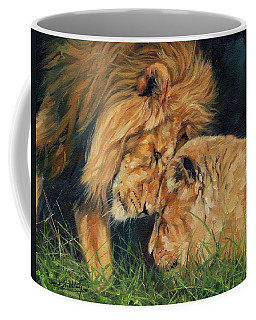 Lion  Love Coffee Mug