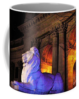 Lion Nyc Public Library Coffee Mug