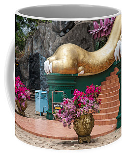 Lion Paws Of The Entrance To Golden Temple. Dambulla Coffee Mug