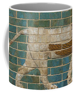 Lion Relief From The Processional Way In Babylon Coffee Mug