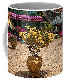 Lion Vases At Golden Temple In Dambulla Coffee Mug