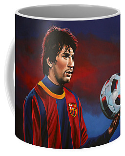 Lionel Messi 2 Coffee Mug