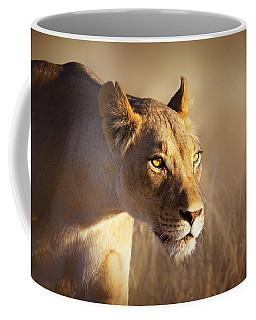 Lioness Portrait-1 Coffee Mug