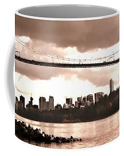 Lions Gate Bridge Panorama Coffee Mug