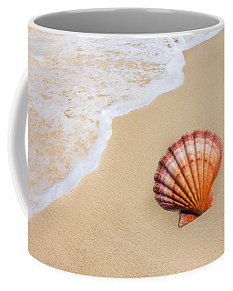 Coffee Mug featuring the photograph Lion's Paw At Water's Edge by Leigh Anne Meeks
