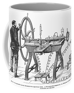 Liquefying Gas, 1878 Coffee Mug