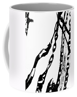 Liquid  Chains  Coffee Mug by Expressionistart studio Priscilla Batzell