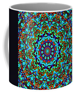 Liquid Dream Kaleidoscope Coffee Mug