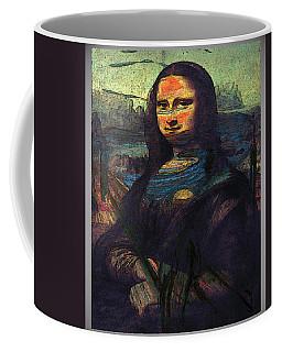 Lisa Munch Scream  Coffee Mug