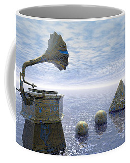 Listen - Surrealism Coffee Mug