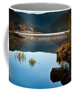 Lite Early Morning Mist Coffee Mug by Steven Reed