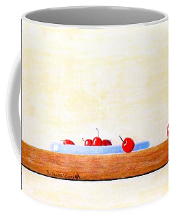 Coffee Mug featuring the painting Lite Life by A  Robert Malcom