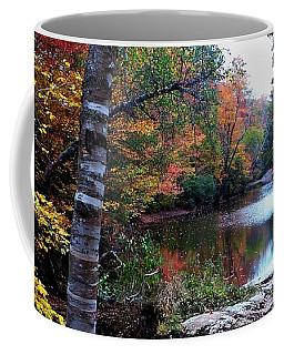 Little Androscoggin River Coffee Mug by Mike Breau