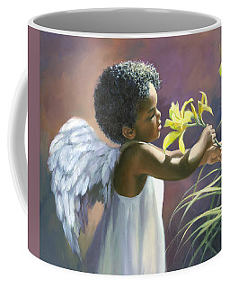 Little Black Angel Coffee Mug