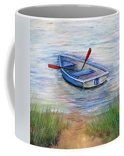 Little Boat Coffee Mug by Loretta Luglio