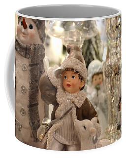 Little Boy And A Lamb Coffee Mug