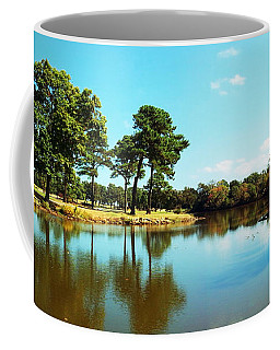 Coffee Mug featuring the photograph Little Creek by Angela DeFrias