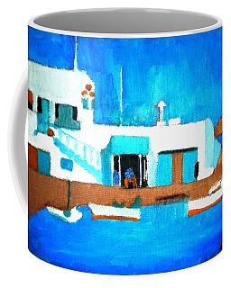 Paros  Cute Spot On Greek Island Coffee Mug