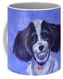 Little Dog Blue Coffee Mug