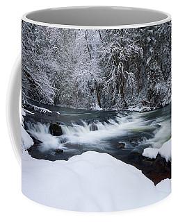 Little Fall Creek Winter Coffee Mug