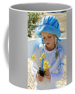 Little Girl Blue  Coffee Mug by Suzanne Oesterling