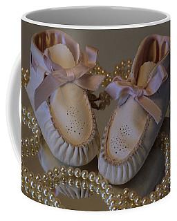 Little Girls To Pearls Coffee Mug by Sharon Elliott