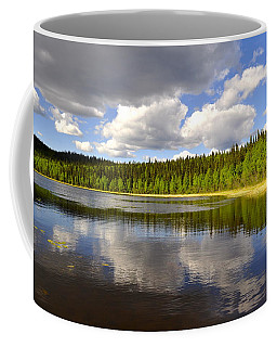 Coffee Mug featuring the photograph Little Lost Lake by Cathy Mahnke