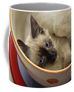 Little Miss Blue Eyes Coffee Mug