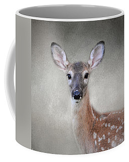 Little Miss Lashes - White Tailed Deer - Fawn Coffee Mug