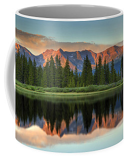 Little Molas Lake Sunset 2 Coffee Mug