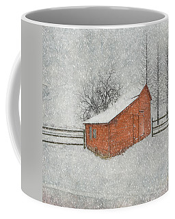 Little Red Barn Coffee Mug