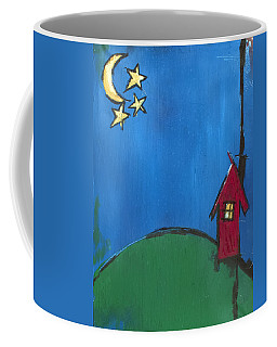 Little Red House Coffee Mug