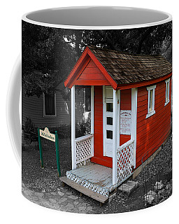 Little Red School House Coffee Mug by Richard J Cassato