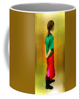 Little Shopgirl Coffee Mug