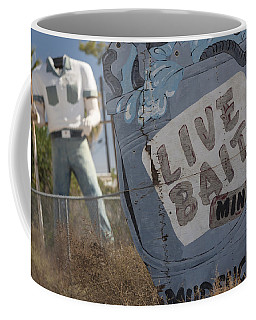 Live Bait And The Man Coffee Mug