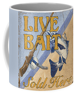 Live Bait Coffee Mug